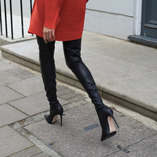 THIGH HIGH BOOT 120 mm