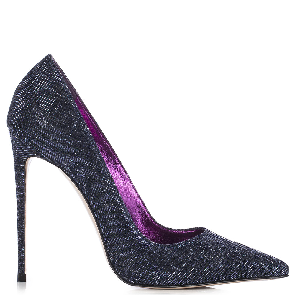 Le Silla Eva Pump 120 Mm In Poison