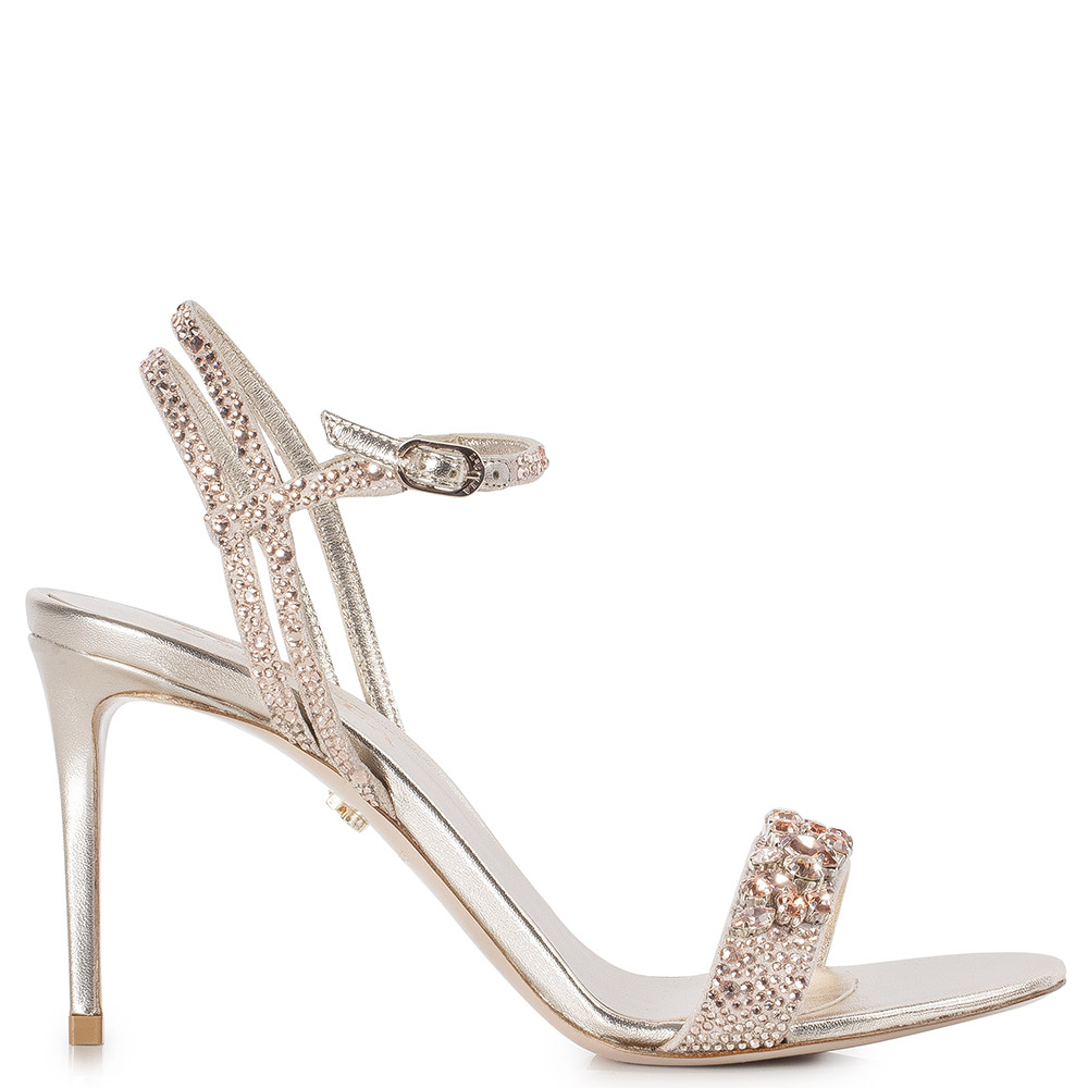 Le Silla Grace Sandal 90 Mm In Skin