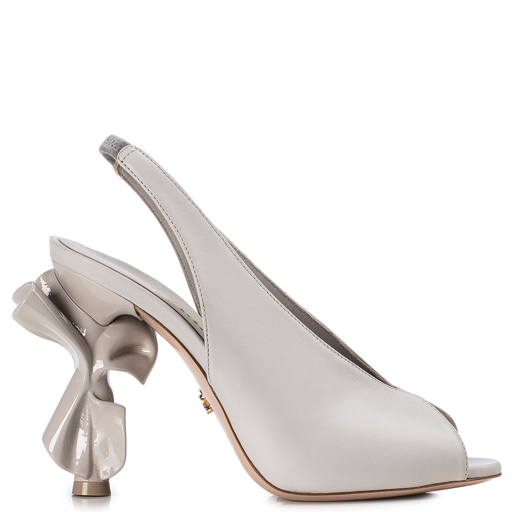 Le Silla Candy Slingback 120 Mm In Marble
