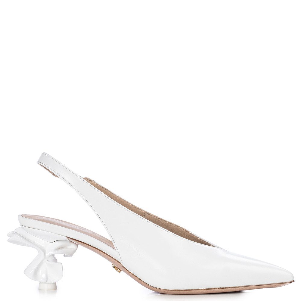 Le Silla Candy Slingback 70 Mm In Paper