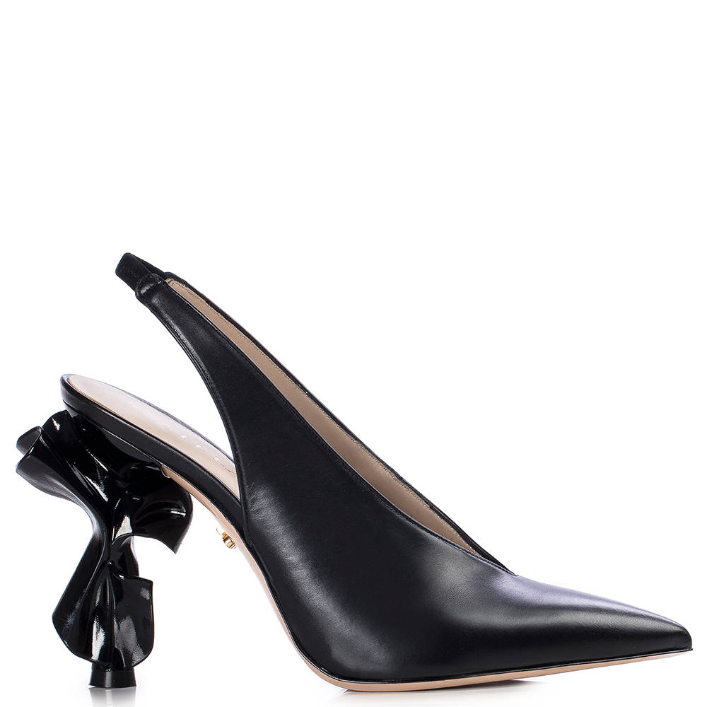 Le Silla Candy Slingback 120 Mm In Black